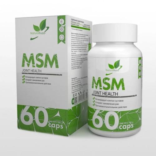 NaturalSupp MSM 60к