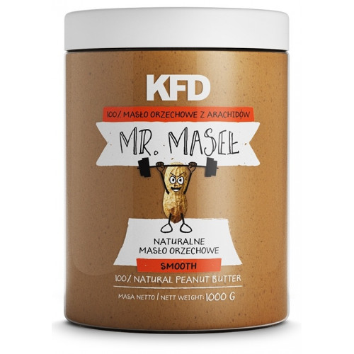 100% Peanut Butter Smooth KFD (1000 гр)