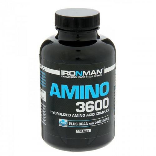 IRONMAN™ Амино 3600 100т