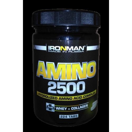 Аминокислоты Ironman Amino 2500 224 таб «Килоспорт»