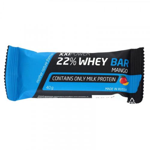 Батончики Протеиновый батончик XXI Power™ 22% Whey Bar «Килоспорт»