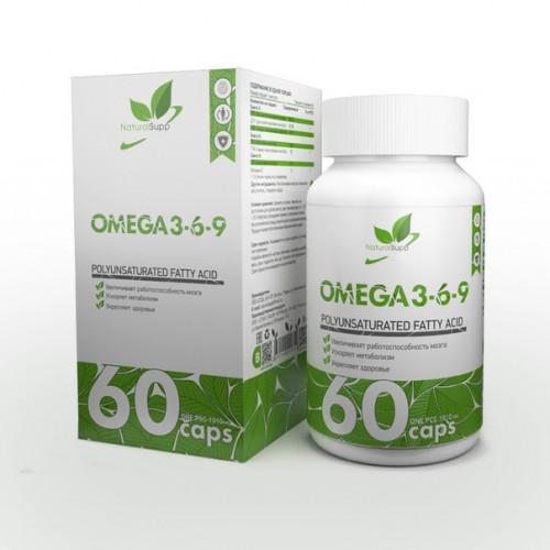 NaturalSupp Omega 3-6-9 60к