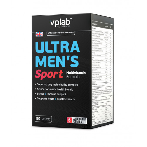 Витамины и минералы VPLab Ultra Men's Sport Multivitamin Formula «Килоспорт»