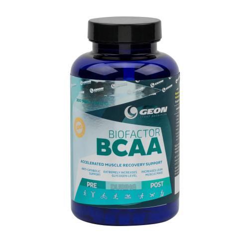 BCAA GEON BioFactor BCAA 1000мг 200таб «Килоспорт»