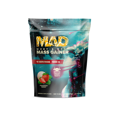 MAD WHEY & BEEF MASS GAINER 1000g