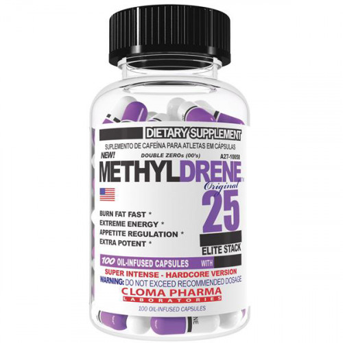 Жиросжигатели Cloma Pharma Methyldrene-25 Elite 100к «Килоспорт»