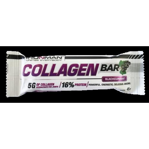 IRONMAN™ Батончик Collagen Bar 50гр