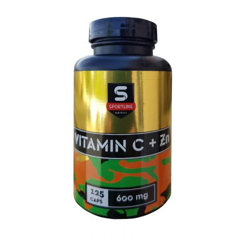 SportLine Витамин С + Zn 125caps