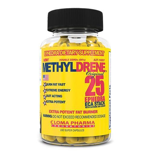 Жиросжигатели Cloma Pharma Methyldrene 25 100к «Килоспорт»