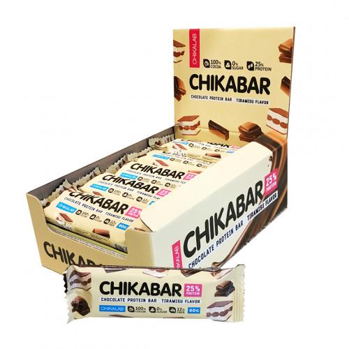 CHICABAR Протеиновый батончик в шоколаде 60гр