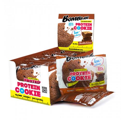 Bombbar Низкокалорийное протеиновое печенье 40гр