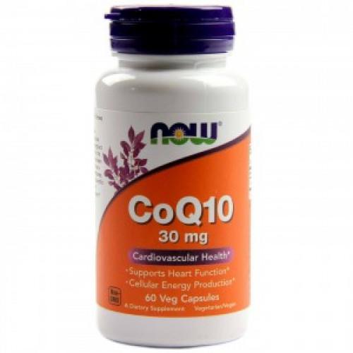 Специальные препараты NOW CoQ10 30mg 60к «Килоспорт»