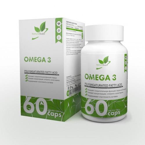 NaturalSupp Omega 3  60к