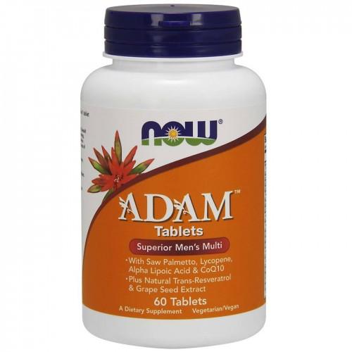 Витамины и минералы NOW Adam Male Multi 60 таб «Килоспорт»