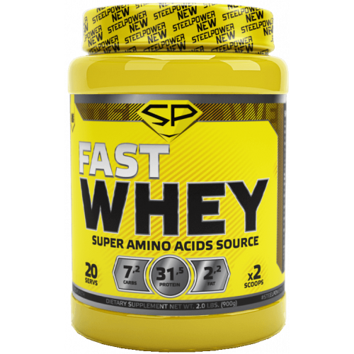 Протеины Steel Power Fast Whey 0.9кг «Килоспорт»