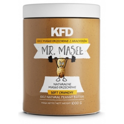 100% Peanut Butter Crunchy KFD (1000 гр)