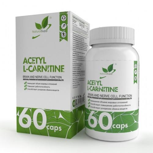NaturalSupp Acetyl L-carnitine 60к