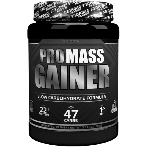 Гейнеры Steel Power Pro Mass Gainer 1.5кг «Килоспорт»