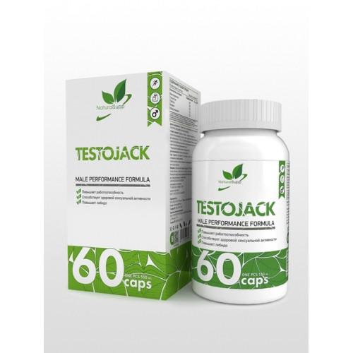 NaturalSupp TestoJack (Тестоджек) 60к