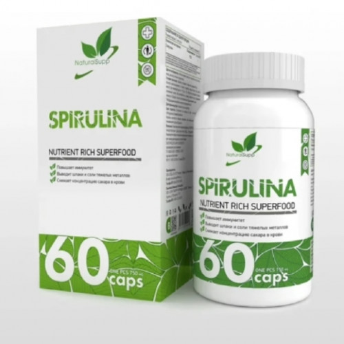 NaturalSupp Spirulina 60к