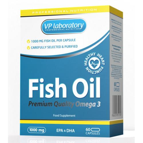 Специальные препараты VPLab Fish Oil 1000мг «Килоспорт»