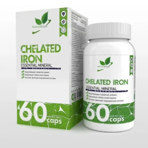 NaturalSupp Chelated Iron 60к