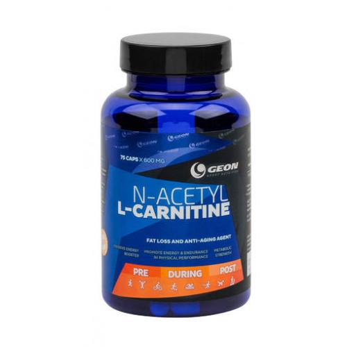 Жиросжигатели GEON N-acetyl-L-carnitine 75капс. «Килоспорт»