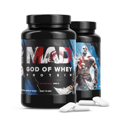 Протеины MAD GOD OF WHEY 1000gr «Килоспорт»