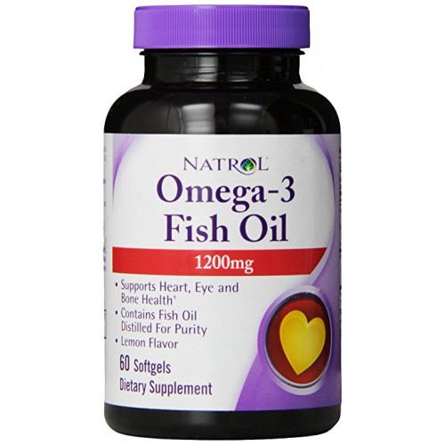 Специальные препараты Natrol Omega 3 1200 mg 60к «Килоспорт»