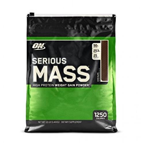 Гейнеры Optimum Nutrition Serious Mass 5.45кг «Килоспорт»