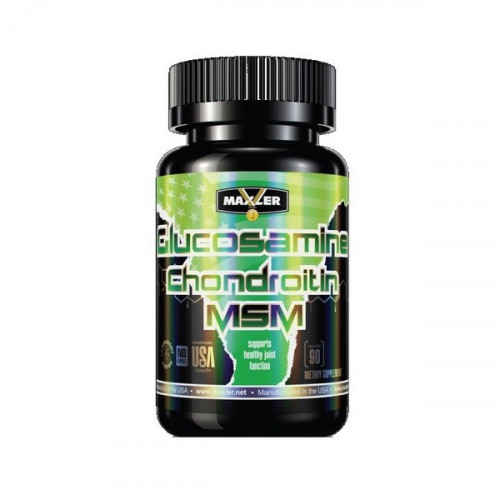 Витамины для суставов Maxler Glucosamine-Chondroitin-MSM 90т «Килоспорт»