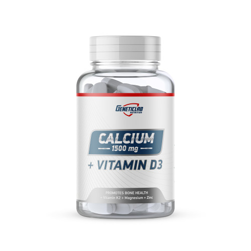 Витамины для суставов Geneticlab CALCIUM + vitamine D3 45gr/30 serv «Килоспорт»