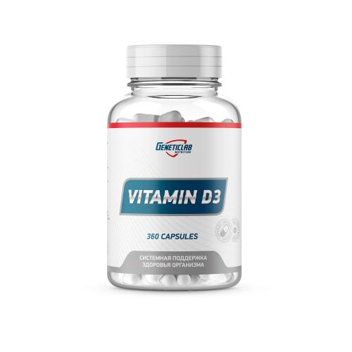Geneticlab Vitamine D3 360caps