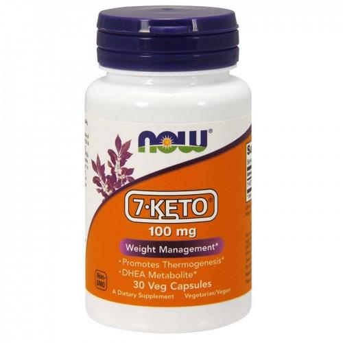 Специальные препараты NOW 7 Keto 100mg 30к «Килоспорт»