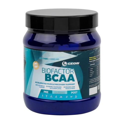 BCAA GEON BioFactor BCAA 1000мг 450таб «Килоспорт»