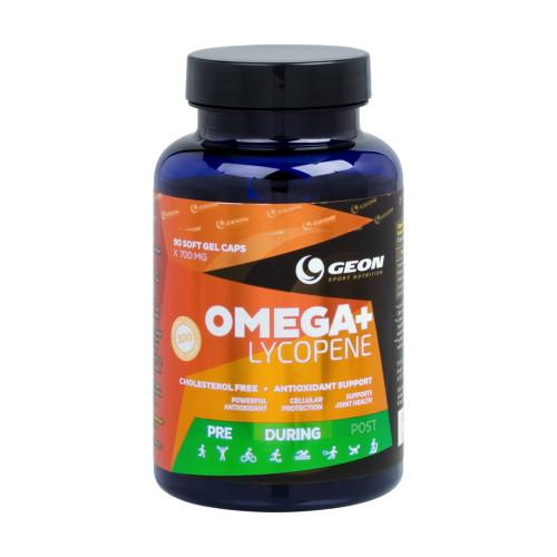 Специальные препараты GEON Omega+Lycopene 90 кап «Килоспорт»