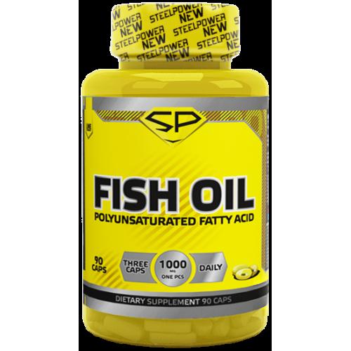 Специальные препараты Steel Power Fish Oil 90к «Килоспорт»