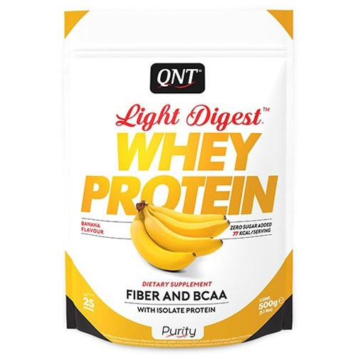 Протеины QNT Light Digest Whey Protein 500гр «Килоспорт»