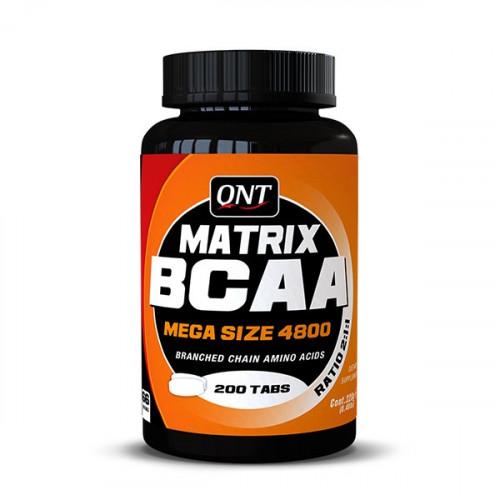 BCAA QNT Matrix BCAA 4800 200т «Килоспорт»