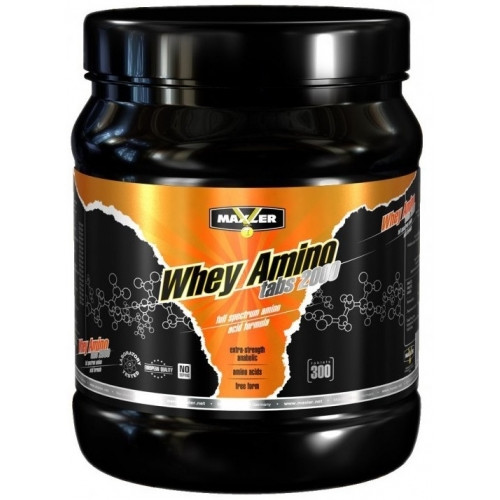 Аминокислоты Maxler Whey Amino Tabs 2000 300 т «Килоспорт»