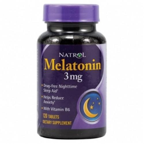 Специальные препараты Natrol Melatonin 3 mg 120т «Килоспорт»