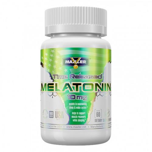 Специальные препараты Maxler Melatonin 10 мг 60т «Килоспорт»