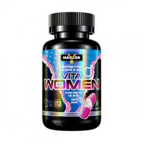 Витамины и минералы Maxler VitaWomen 60т «Килоспорт»