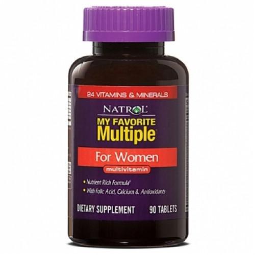 Витамины и минералы Natrol My Favorite Multiple Women 90т «Килоспорт»