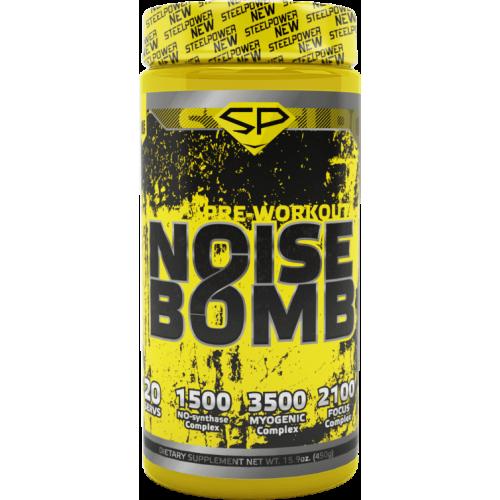 Предтренировочные комплексы Steel Power Noise Bomb 450гр «Килоспорт»