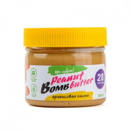 Натуральная арахисовая паста Bombbar 300гр