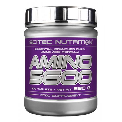 BCAA Scitec Nutrition Amino 5600 200т «Килоспорт»
