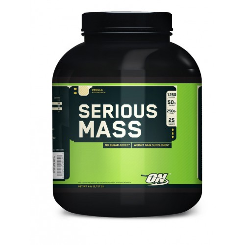 Гейнеры Optimum Nutrition Serious Mass 2.7кг «Килоспорт»