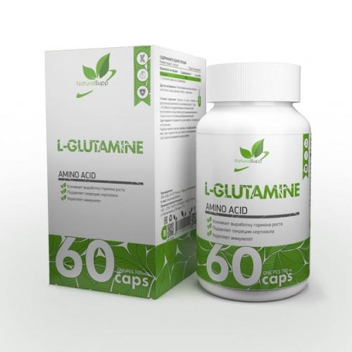 NaturalSupp L-Glutamine 60к